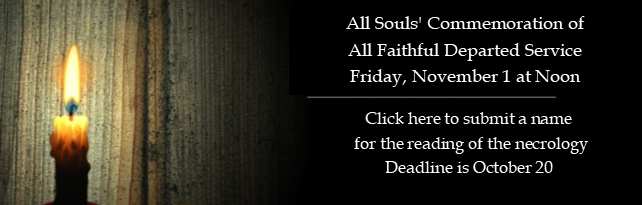 All Souls Necrology Name