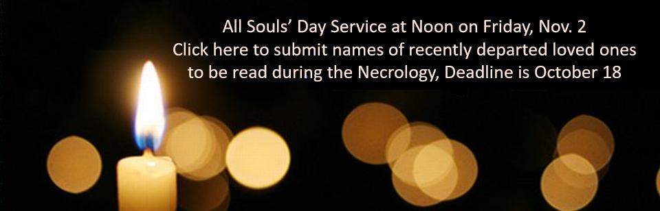 All Souls' names Banner
