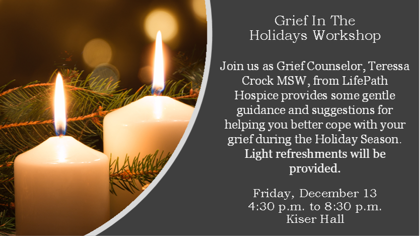 Grief in Holiday 2019