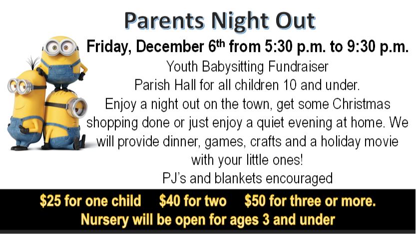 Parents night out 2019 2