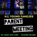 Young Families Parent Meeting Saturday, Aug. 28th Thumbnail