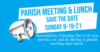 Parish Meeting with Lunch Featured Image