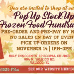 Thanksgiving Pre-order & Pre-Pay Pop Up Stock Up Frozen Food Fundraiser Thumbnail