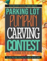 Parking Lot Pumpkin Carving and Movie on the Lawn Featured Image
