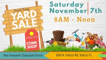 Yard Sale Fundraiser Sponsored by Scout Troops 109 & 901 Featured Image