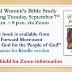 Virtual Women's Bible Study Sept 7th Thumbnail