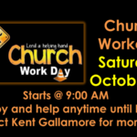 9 AM – Noon-Church Work Day October 23 Thumbnail